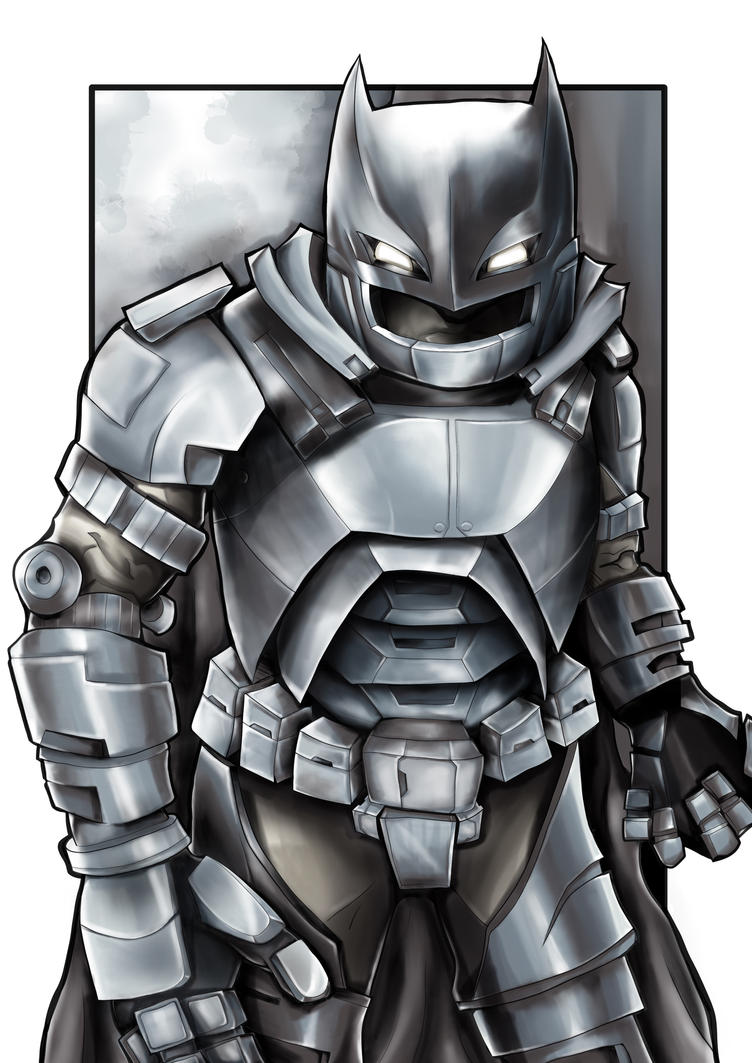 Robo Batman by natty81