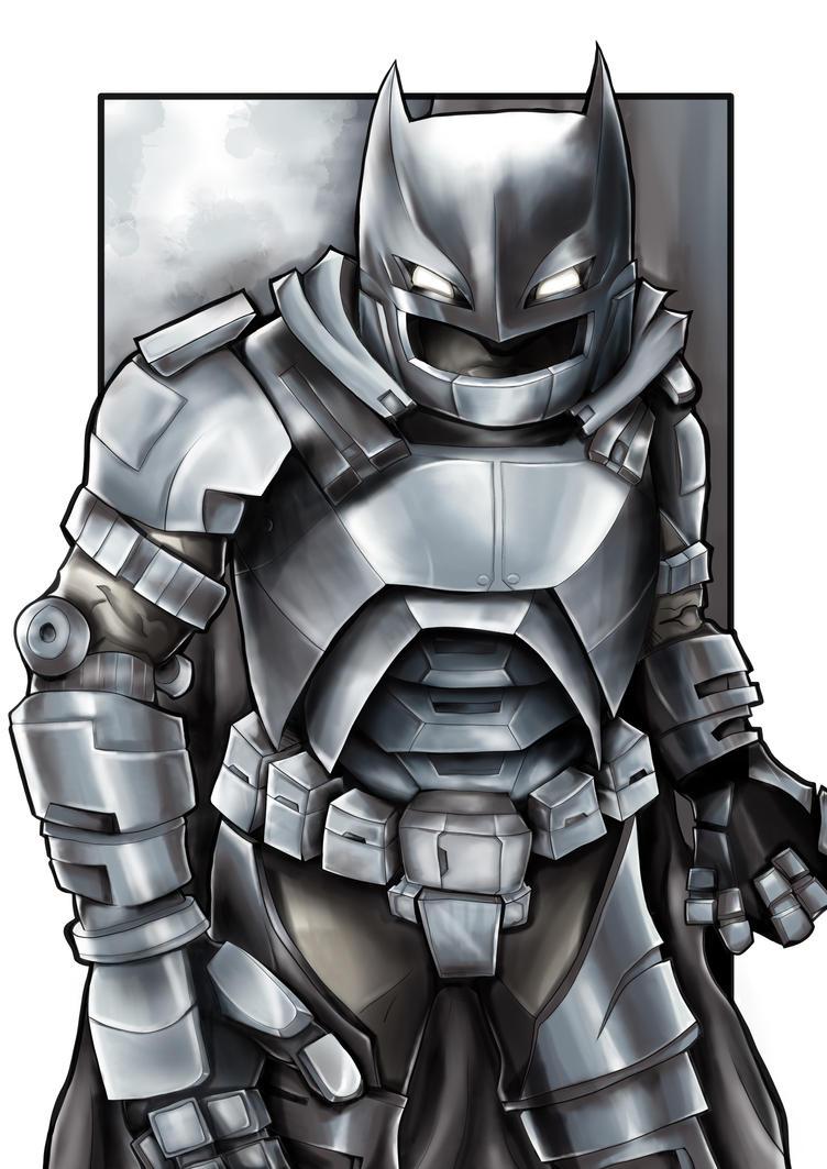 Robo Batman by natty81