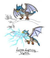 Lesser Lightning Wyvern