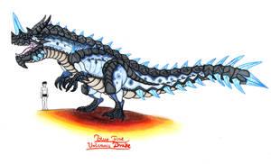 Blue Fire Volcanic Drake