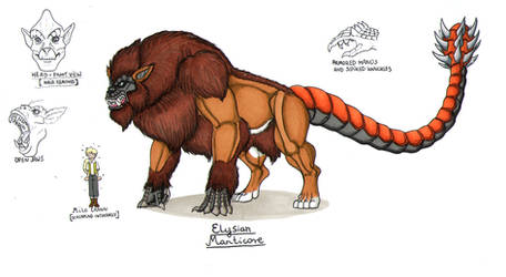 Original Species: Elysian Manticore