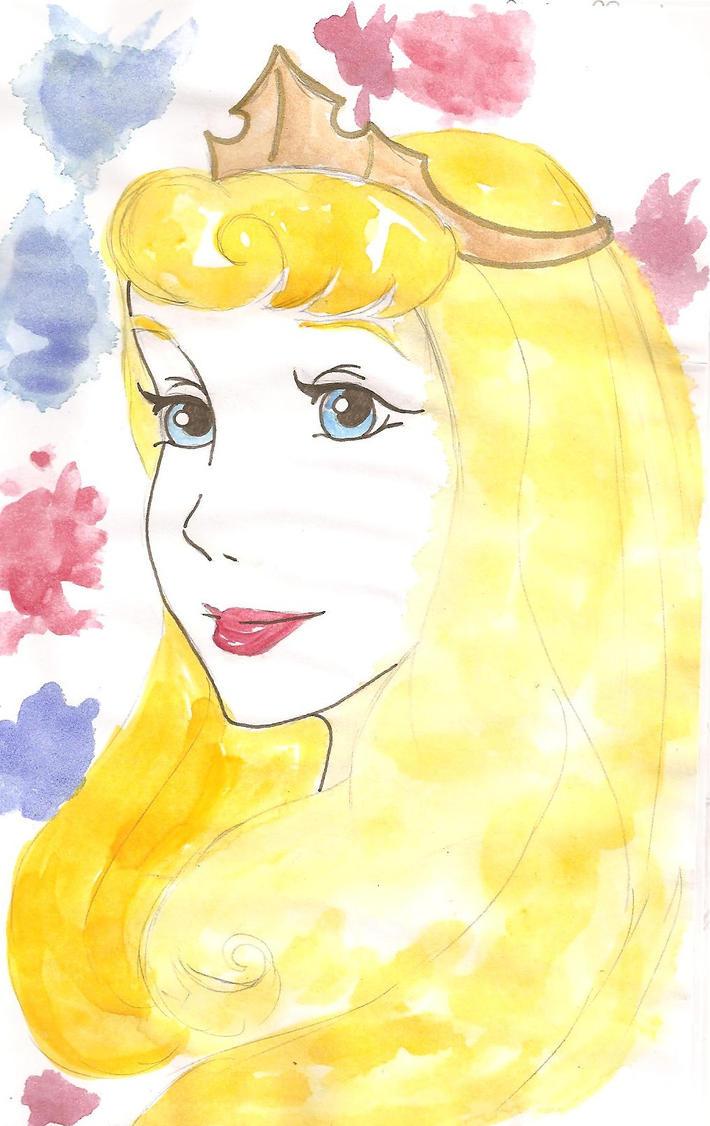 Sleeping Beauty - Aurora by kamomillou