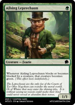 Ailsing Leprechaun - Cu Cul Cairn ire