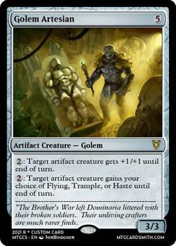 Golem Artesian - Dominaria Rennisance