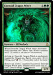 Emerald Dragon Witch - Ahzmandia
