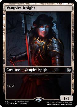 Vampire Kight Token - Darkness 3D (typhonart)