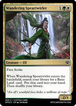 Wandering Speartwirler - Empires II - Dragon Dynas