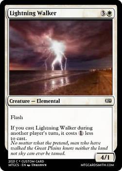 Lightning Walker - R22 Modern