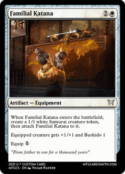 Familial Katana - Empires III - Kamigowa SS