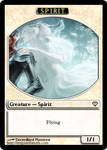 Spirit-Guided Knight 2 - Spirit Token - Darkness 1