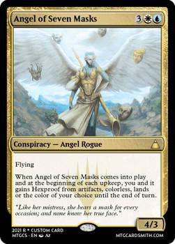 Angel of Seven Masks - Illuminati