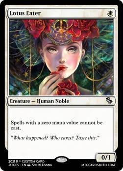 Lotus Eater - Masques of Malice  Mayhem