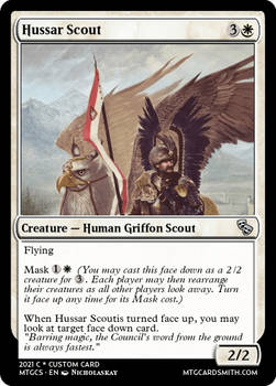 Hussar Scout - Mercadia - Council of Masques