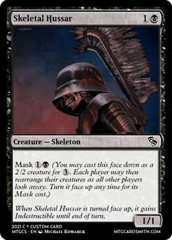 Skeletal Hussar - Mercadia - Council of Masques