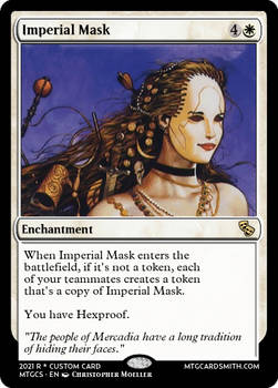 Imperial Mask -  Mercadia - Council of Masques