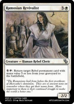 Ramosian Revivalist -   Mercadia - Council of Masq