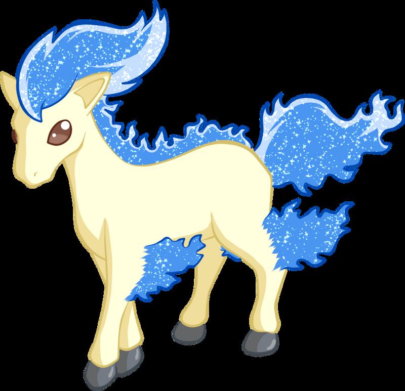 Resultado de imagem para Shiny Ponyta