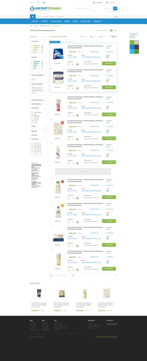 Online Catalog for Product  Reviews by magneticlab