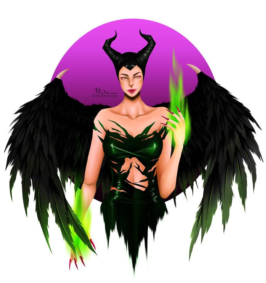 Maleficent Mistress Of Evil By Michimineart On Deviantart