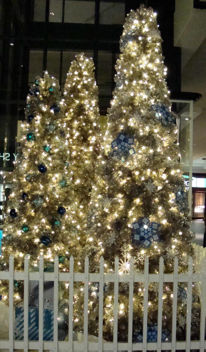 Christmas Tree Night by botskey