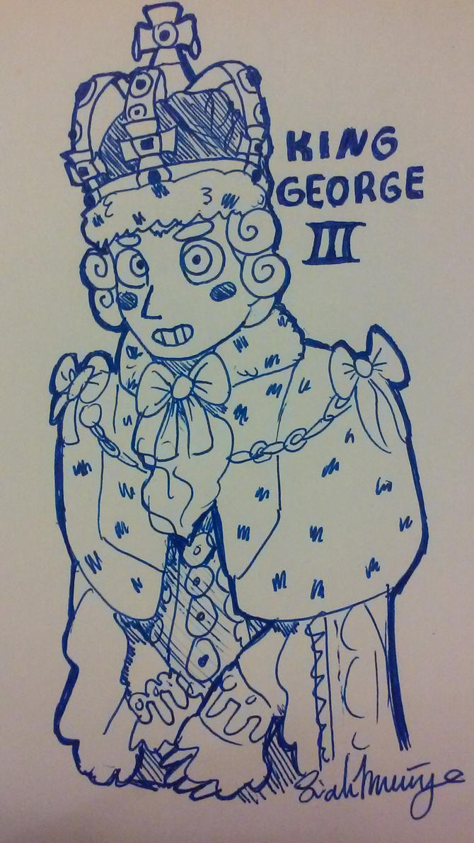 King George III by FireAnt02
