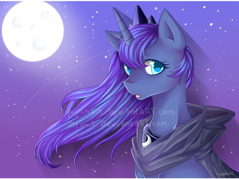 Princess Luna by Meewin