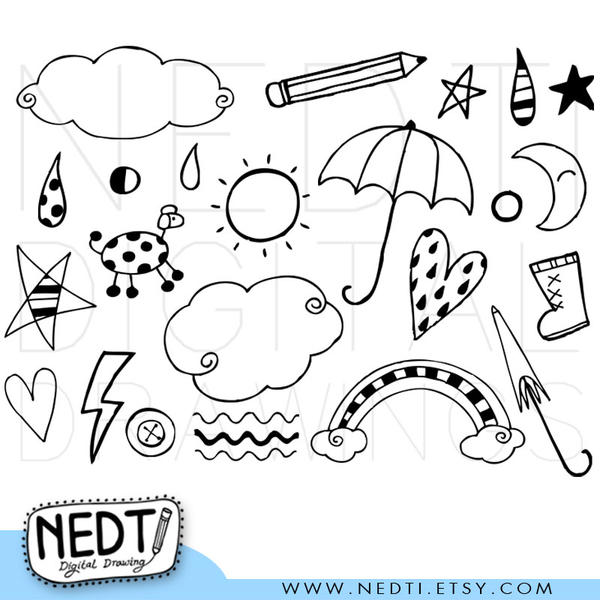 mix doodle clip art by nedti on deviantart rh nedti deviantart com doodle frame clipart doodle first clipart