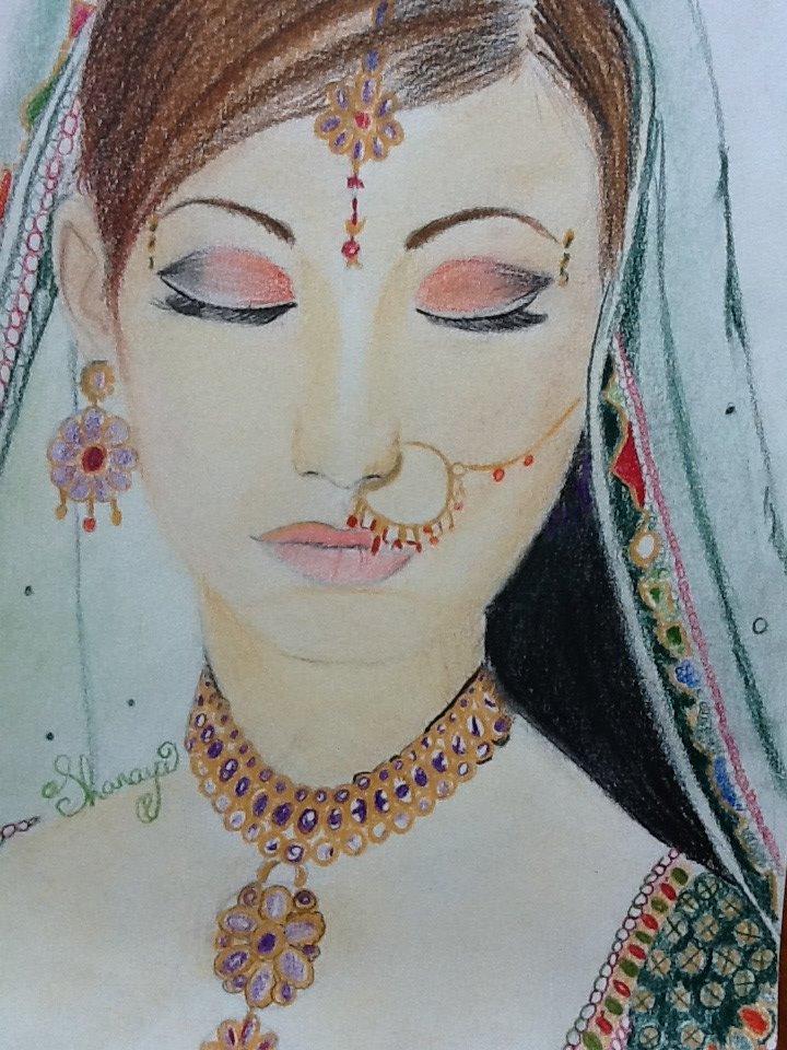 Indian Girl By Shanayaxd On Deviantart