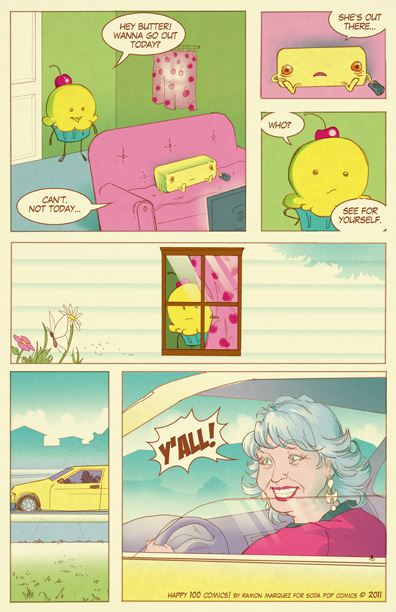 Cupcake Graffiti Guest Comic by Juny