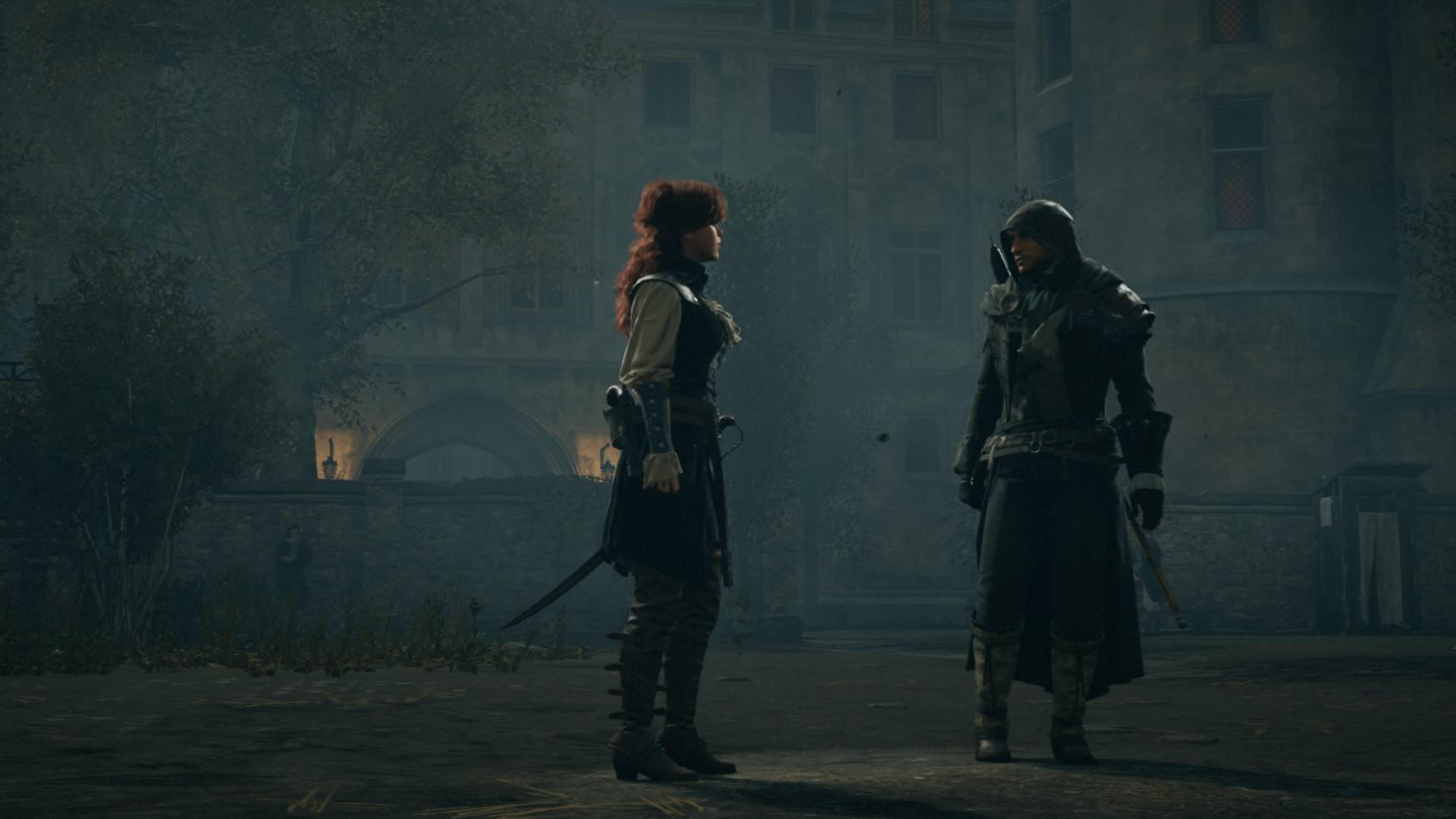 assassins creed unity arno and elise