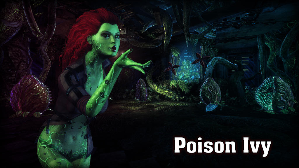 Poison Ivy Wallpaper by BatmanInc