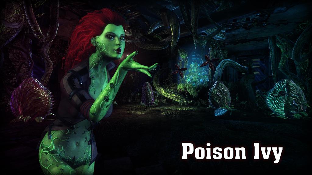 Poison Ivy Wallpaper by BatmanInc