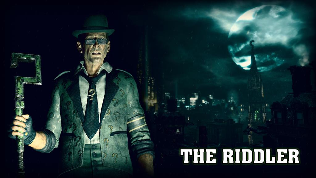 The Riddler Edward Nigma Wallpaper By BatmanInc