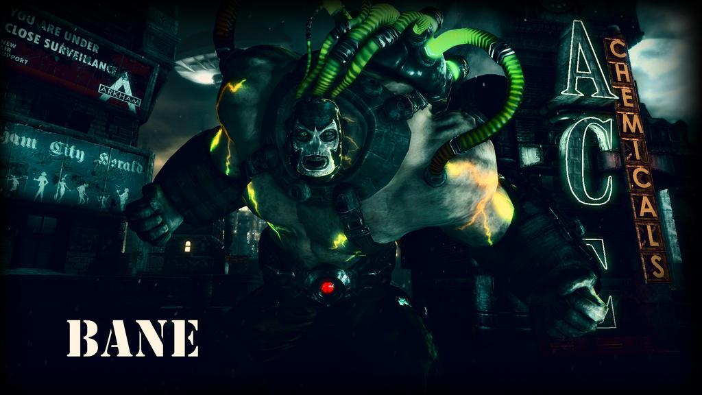 Bane Wallpaper by BatmanInc