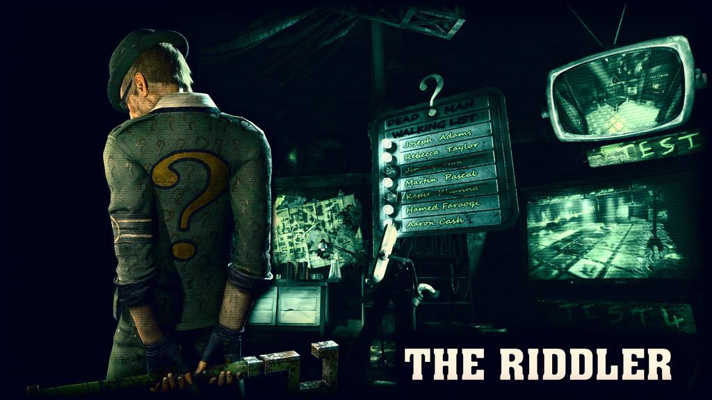 The Riddler Edward Nigma Wallpaper 02 By BatmanInc