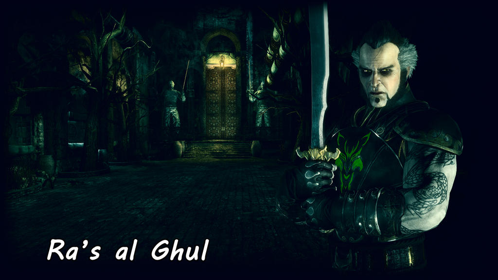 Ra's al Ghul Wallpaper by BatmanInc