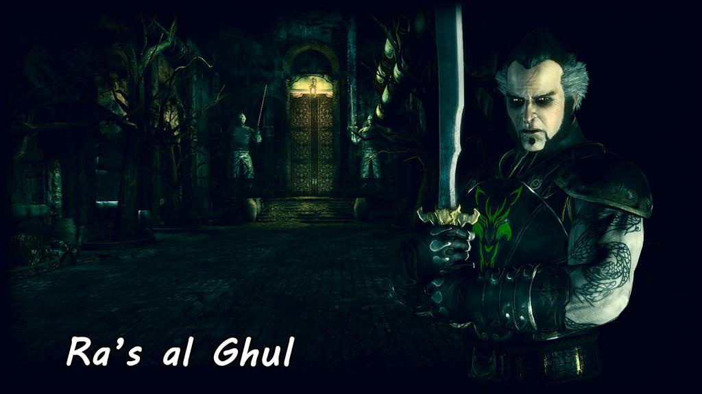 Ra's al Ghul Wallpaper by BatmanInc
