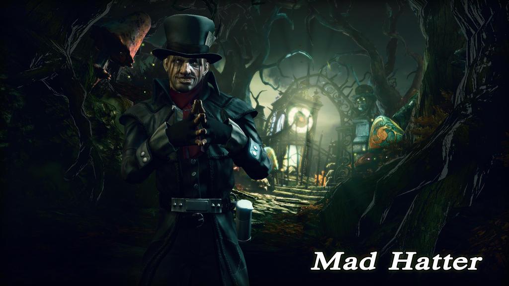 Mad Hatter Wallpaper by BatmanInc