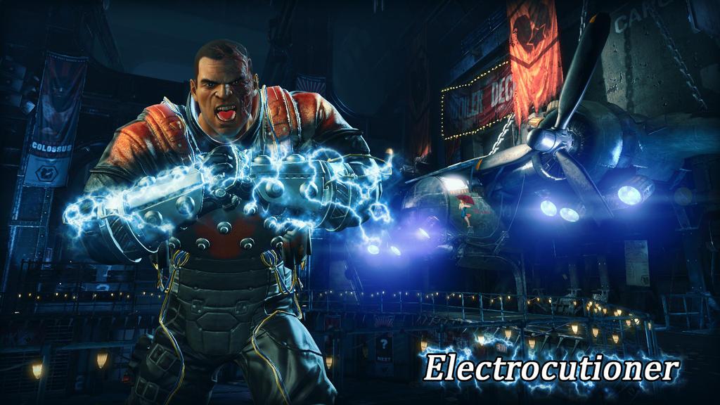 Electrocutioner Wallpaper by BatmanInc on DeviantArt