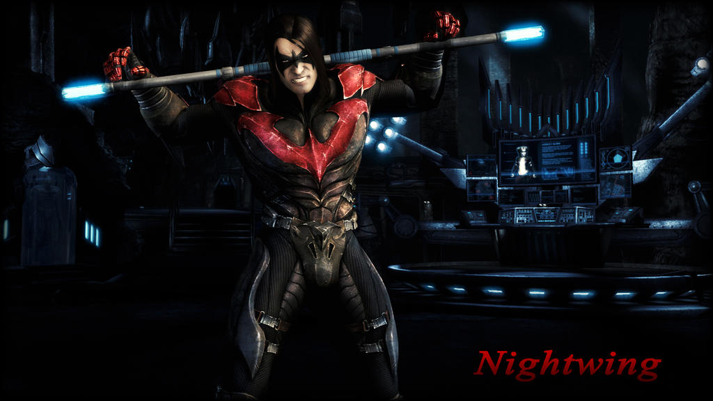 Nightwing (Damian Wayne) Wallpaper by BatmanInc on DeviantArt