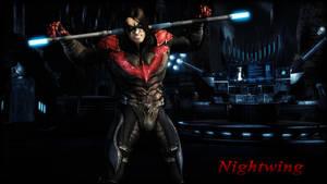 Nightwing (Damian Wayne) Wallpaper