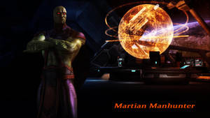 Martian Manhunter Wallpaper (Update) by BatmanInc