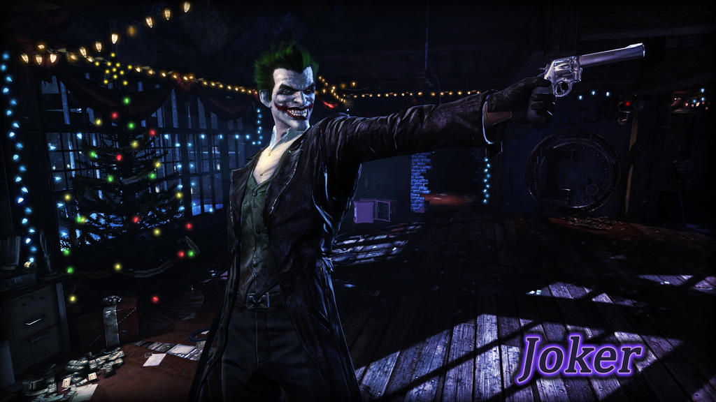 Joker Wallpaper by BatmanInc