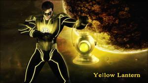 Yellow Lantern Wallpaper