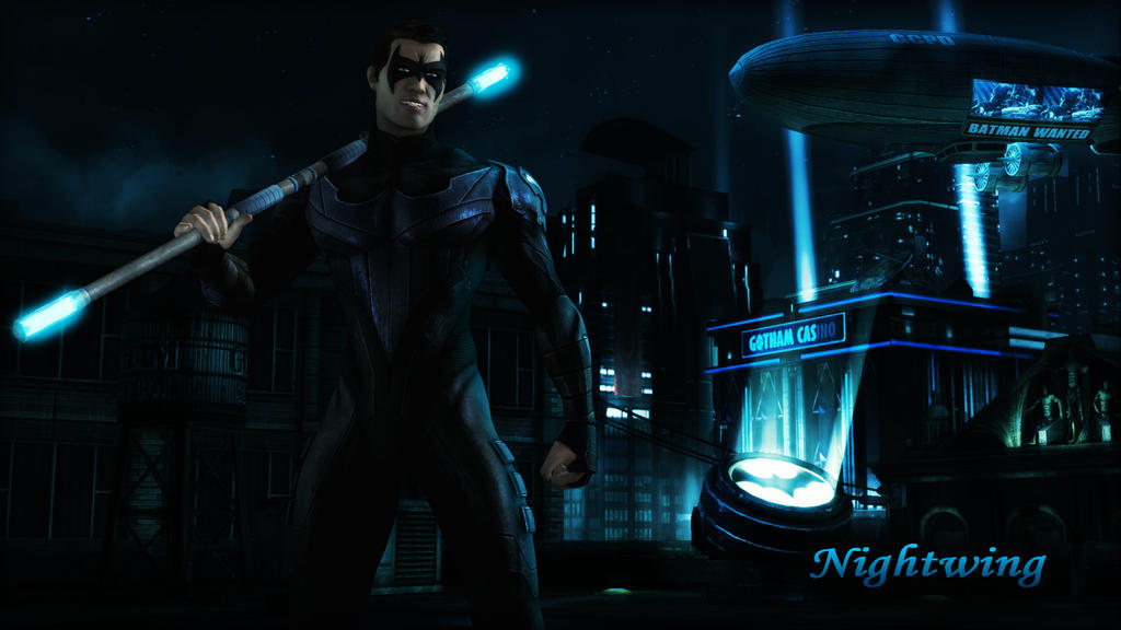 nightwing dick grayson wallpaper update by batmaninc