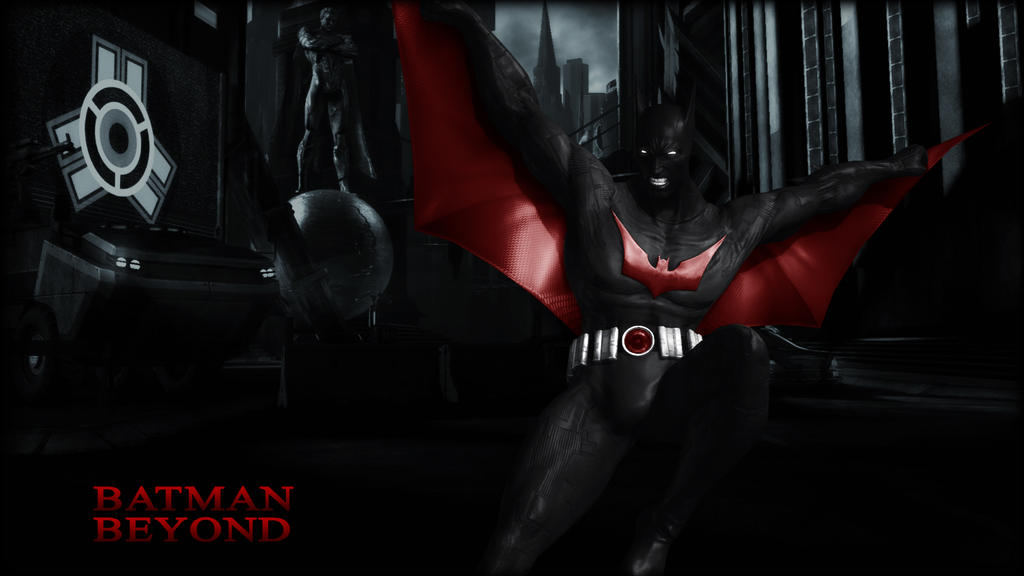 batman beyond wallpaper by batmaninc on deviantart