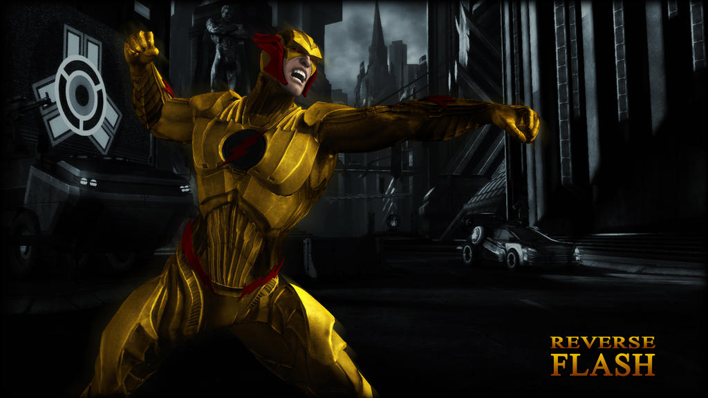 Flash Vs Reverse Flash Wallpaper: Reverse Flash Wallpaper By BatmanInc On DeviantArt