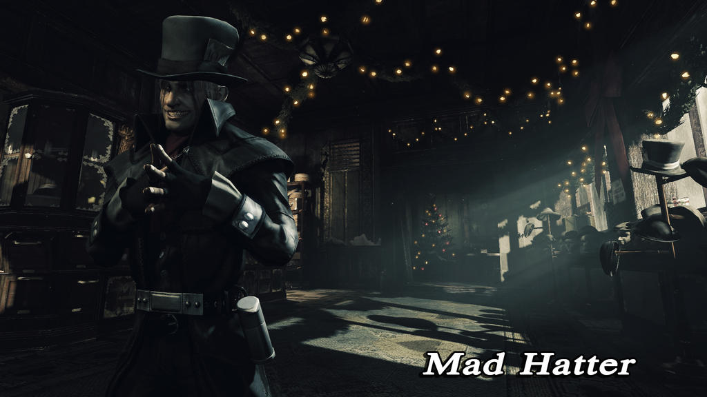 Mad Hatter Wallpaper 02 by BatmanInc on DeviantArt