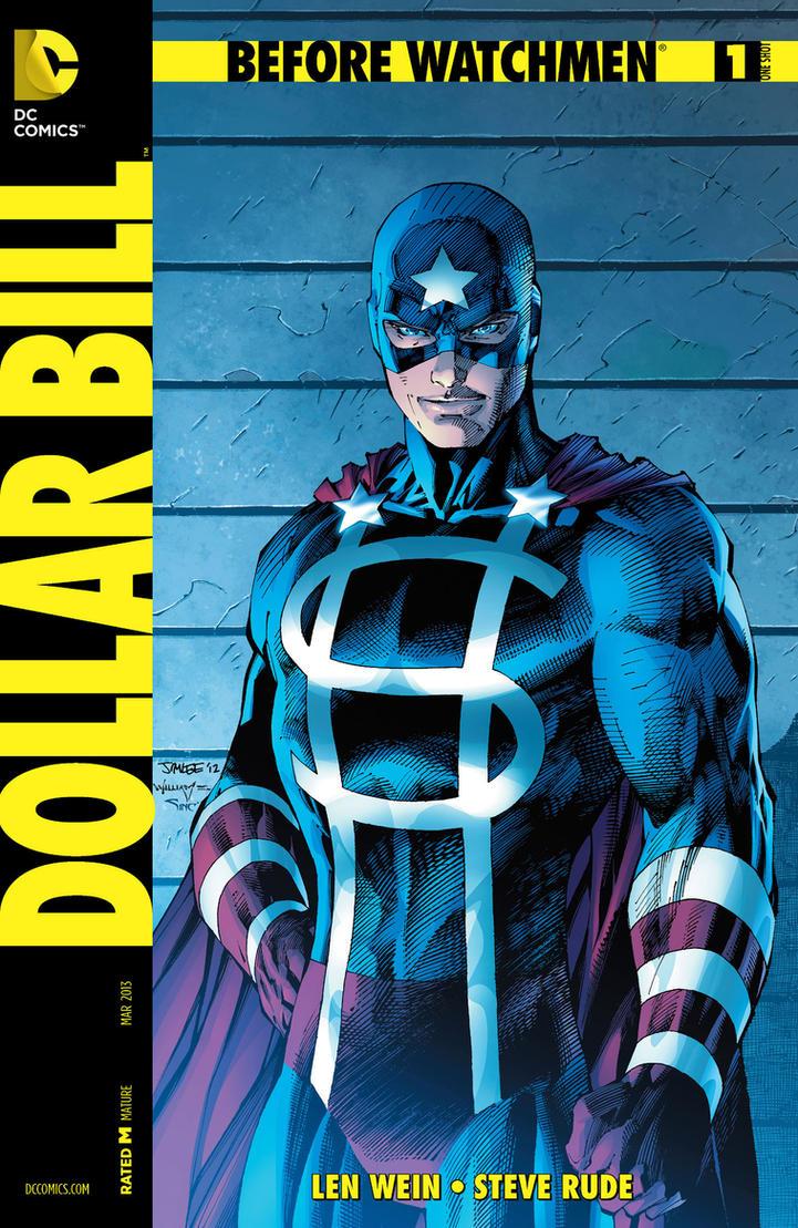 Before Watchmen Dollar Bill Vol 1 1 Variant B by BatmanInc