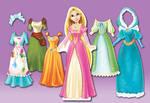 Rapunzel Doll Dresses